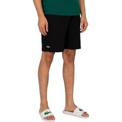 Clothing Men Shorts / Bermudas Lacoste Logo Sweat Shorts black