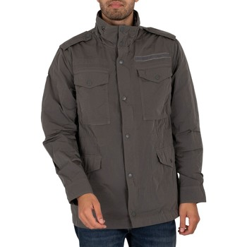 Clothing Men Jackets Superdry New Military Field Jacket grey