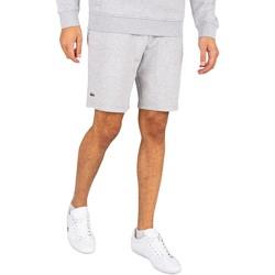 Clothing Men Shorts / Bermudas Lacoste Logo Sweat Shorts grey