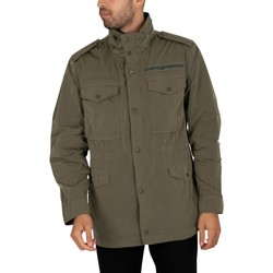 Clothing Men Jackets Superdry New Military Field Jacket green