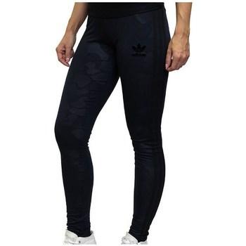 Clothing Women Tracksuit bottoms adidas Originals 3STRIPES Black