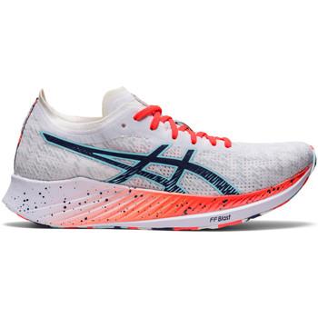 Shoes Women Running shoes Asics Chaussures femme  Magic Speed blanc/bleu électrique