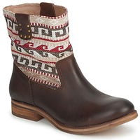 Shoes Women Mid boots Koah DALIA DK / Brown