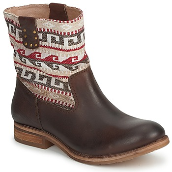 Shoes Women Mid boots Koah DALIA Brown