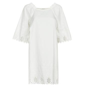 Clothing Women Short Dresses Only ONLLILLO White