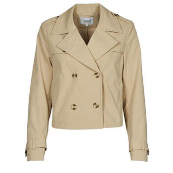 Clothing Women Jackets / Blazers Only ONLSANDIE Beige