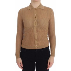 Clothing Women Jackets / Cardigans D&G Beige Knitted 6887