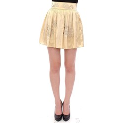 Clothing Women Skirts Andrea Incontri Beige Floral E 6887