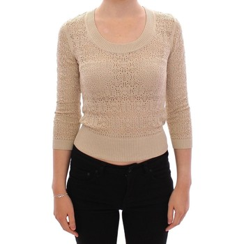 Clothing Women Jumpers D&G Beige Knitted 6887