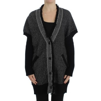 Clothing Women Jackets / Cardigans D&G Gray Knitted C 35
