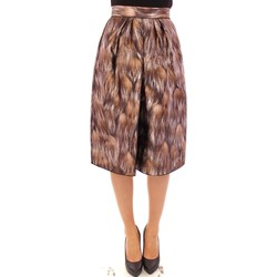 Clothing Women Skirts D&G Brown Floral S 28