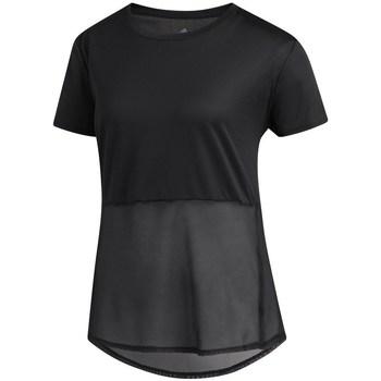 Clothing Women Short-sleeved t-shirts adidas Originals Own The Run Tee White