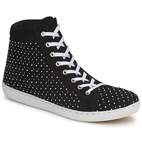 Shoes Women Hi top trainers Yurban AERTUNIS Black