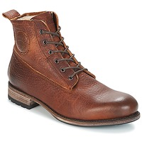 Shoes Men Mid boots Blackstone MID LACE UP BOOT FUR Brown