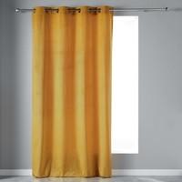 Home Curtains & blinds Douceur d intérieur VELVETINE Yellow