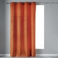 Home Curtains & blinds Douceur d intérieur VELVETINE Terracotta