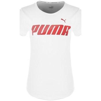 Clothing Women Short-sleeved t-shirts Puma Modern Sport Graphic White