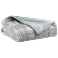 Home Blankets, throws Vivaraise LUBA Grey