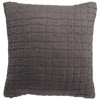 Home Cushions covers Vivaraise SWAMI Grey / Asphalt