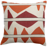 Home Cushions covers Vivaraise ZEFF MILA Beige