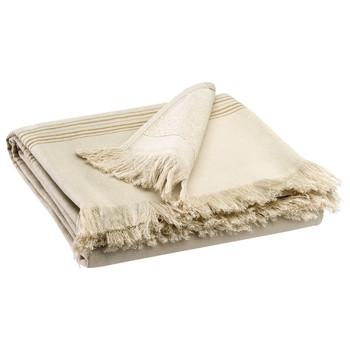 Home Towel and flannel Vivaraise CANCUN Couleur / Lin