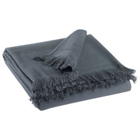 Home Towel and flannel Vivaraise CANCUN Grey / Shaded