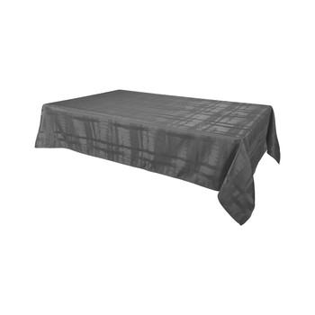 Home Tablecloth Habitable FABIOLA - ANTHRACITE - 145X300 CM Anthracite