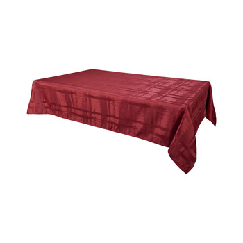 Home Tablecloth Habitable FABIOLA - ROUGE - 145X300 CM Red