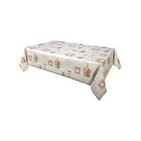 Home Tablecloth Habitable FOURNIL - ROUGE - 140X200 CM Red