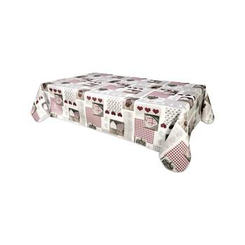 Home Tablecloth Habitable BERNEIX - BLANC - 140X200 CM White