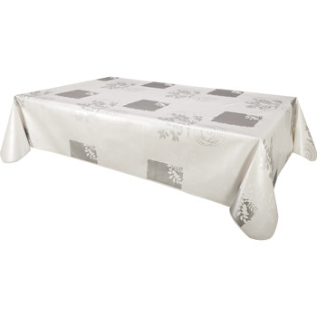 Home Tablecloth Habitable VERA - BLANC - 140X200 CM White