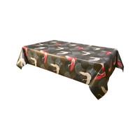 Home Tablecloth Habitable ENVOL - NOIR - 140X200 CM Black