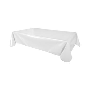 Home Tablecloth Habitable UNI - BLANC - 140X200 CM White