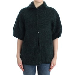 Clothing Women Jackets / Cardigans Roberto Cavalli Green mohair knitted c 25