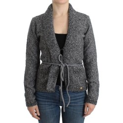 Clothing Women Jackets / Cardigans Roberto Cavalli Gray wool knitted card 35