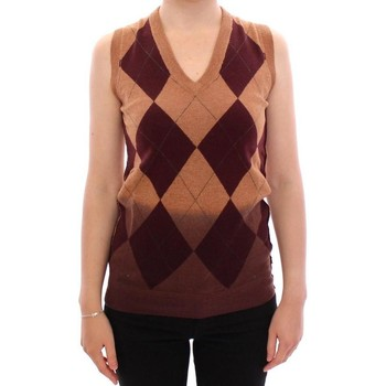 Clothing Women Jackets / Cardigans D&G Brown Wool Ble 28