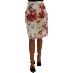 Clothing Women Skirts D&G Floral Pattern 594