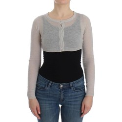 Clothing Women Jackets / Cardigans Ermanno Scervino Gray Knit Woo 35