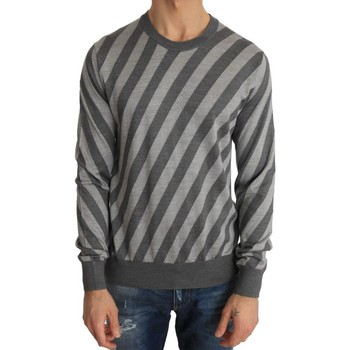 Clothing Men Jumpers D&G Gray Striped S 35