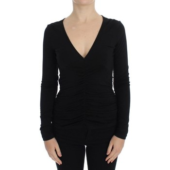 Clothing Women Jumpers Versace Black Stretch Lo 38