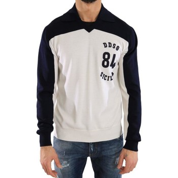 Clothing Men Sweaters D&G Blue White Woo 19