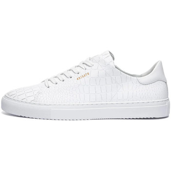 Shoes Men Low top trainers Axel Arigato Clean 90 Croc Trainers - White