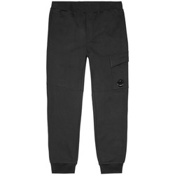 Clothing Men Tracksuit bottoms Cp Company Sweat Cargo Pant - Black