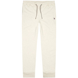 Clothing Men Tracksuit bottoms Paul Smith Slim Fit Joggers - Off White / Grey