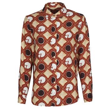 Clothing Women Shirts Soi Paris x Spartoo PICNIC Brown