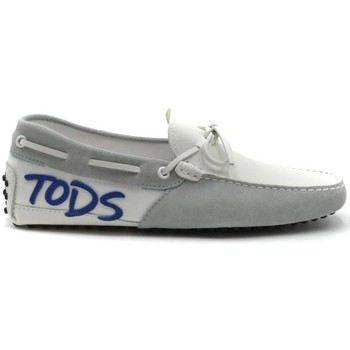 Shoes Men Loafers Tod`s Men's Moccassin In Grey grey