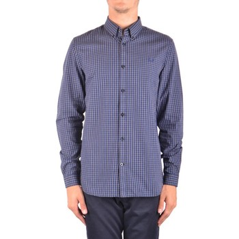 Clothing Men Long-sleeved shirts Fred Perry Men's Shirt In Blue 19