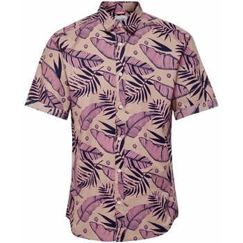 Clothing Men Short-sleeved shirts Only & Sons  Men's Shirt In Mul Multicolor