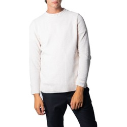 Clothing Men Jumpers Over-D Men's Knitwear In White 1