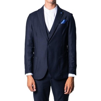 Clothing Jackets / Blazers Over-D Men's Suit In Blue 19